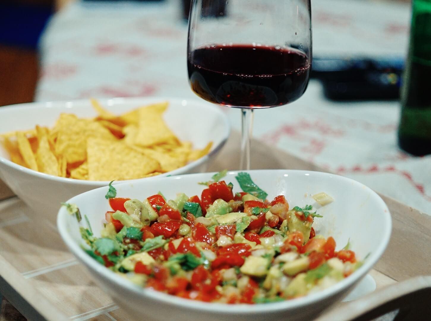 Rajčatovo – avokádová salsa ala @chefkamu