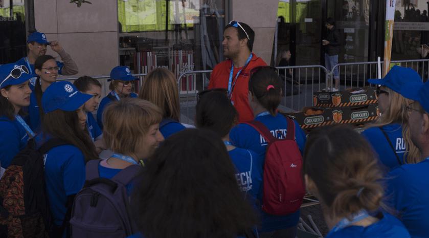 Maratonský víkend v roli dobrovolníka