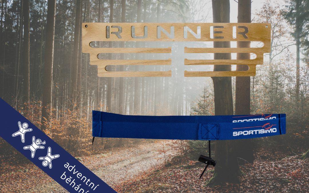 Prosincová běžecká výzva 2020 pomáhá Adventnímu běhání